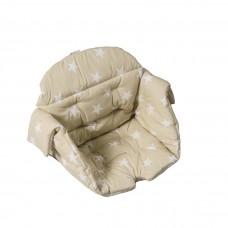 Kaxholmen chair cushion cotton beige star