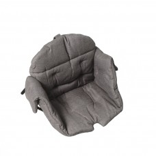 Kaxholmen sittdyna bomull gråmillerad