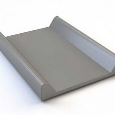 Hard bottom changing mat Grey Kaxholmen