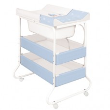 Kaxholmen Changing table Blue Boats