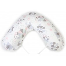 NG Baby Breastfeeding pillow large Circus Pink