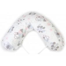 NG Baby Breastfeeding pillow large Circus Pink