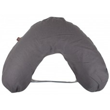 NG Baby Breastfeeding pillow large Mood Graphite Grey