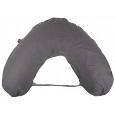 NG Baby Breastfeeding pillow large Mood Graphite Grey