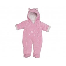 Playshoes overall bear pink size 68
