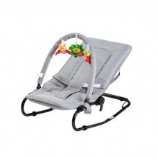Babytrold Babysitter Grey with Play Bow